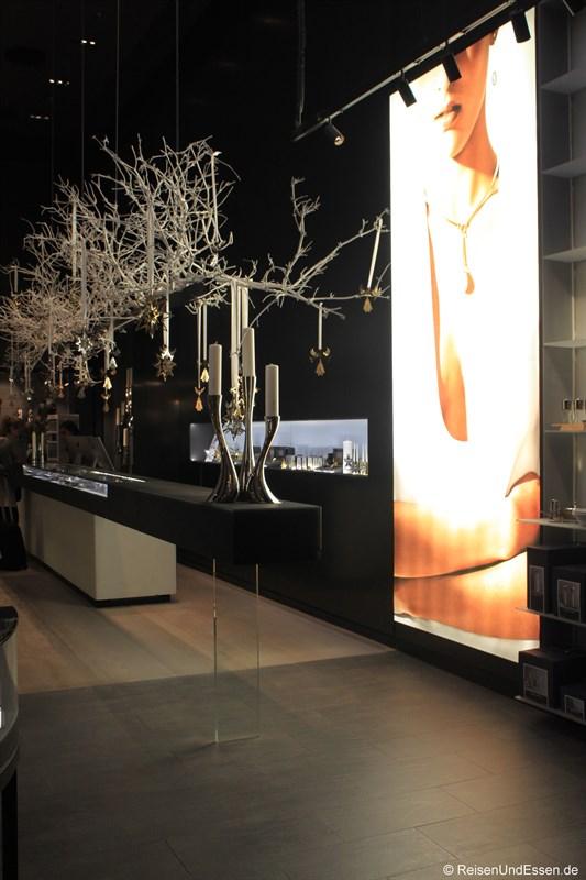 Shoppingbereich am Flughafen Kopenhagen