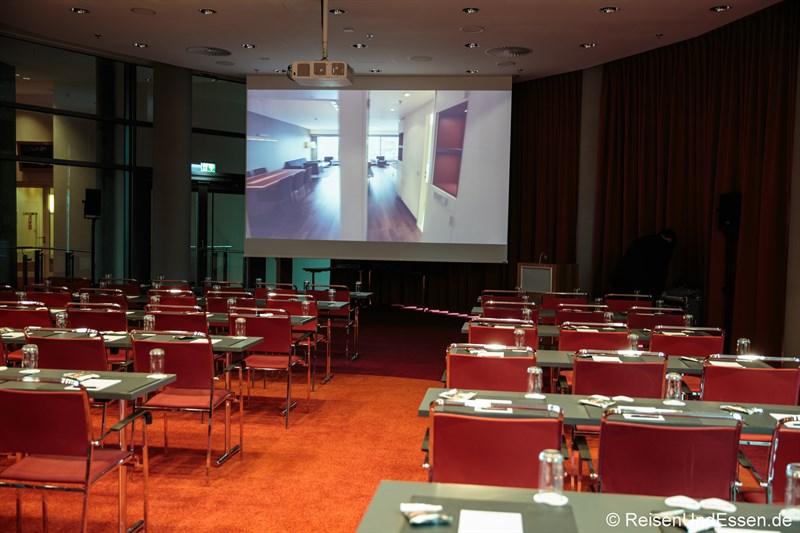 Tagungsraum im Radisson Blu Frankfurt