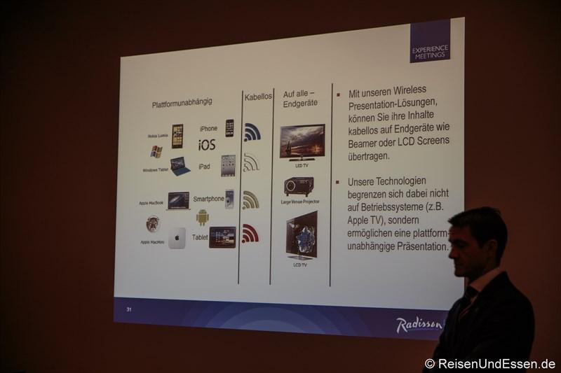 Modernste Technologie für Experience Meetings