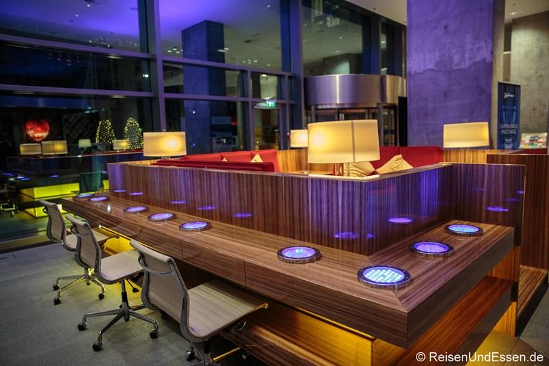 Foyer im Radisson Blu Frankfurt