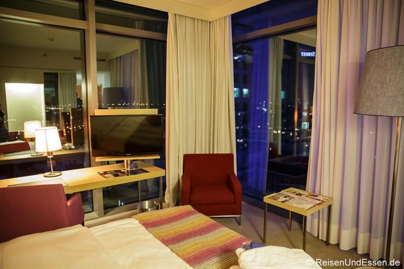 Business Eckzimmer im Radisson Blu Frankfurt