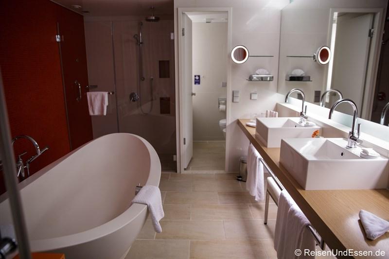 Badezimmer in der Präsidentensuite