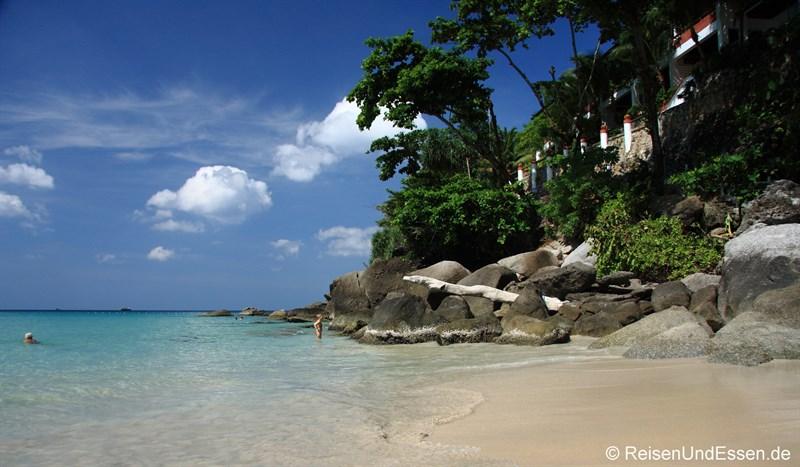 Strand am Kata Noi Beach auf Phuket