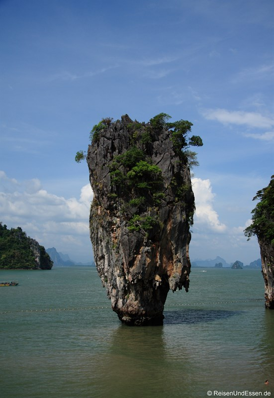 James Bond Felsen in der Phang Nga Bucht