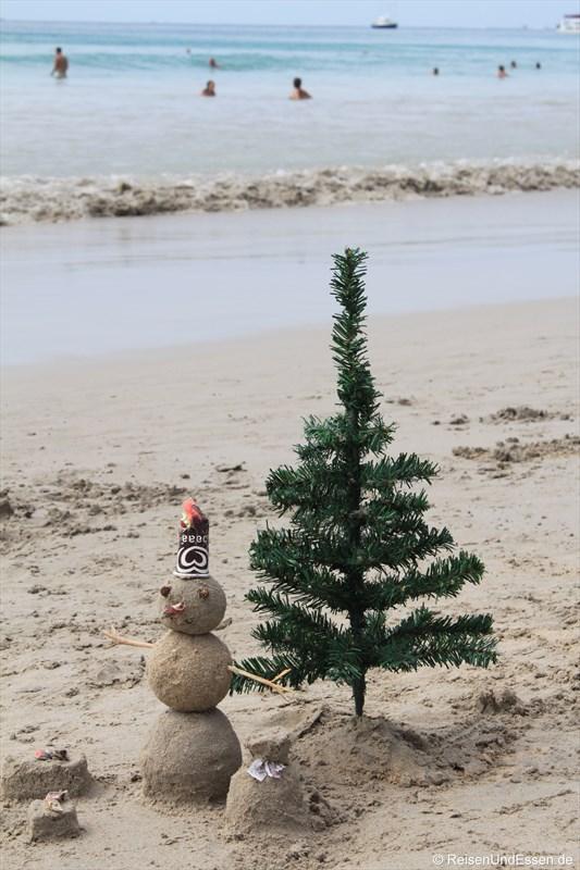 Tropische Weihnachten in Thailand und Gewinnspiel