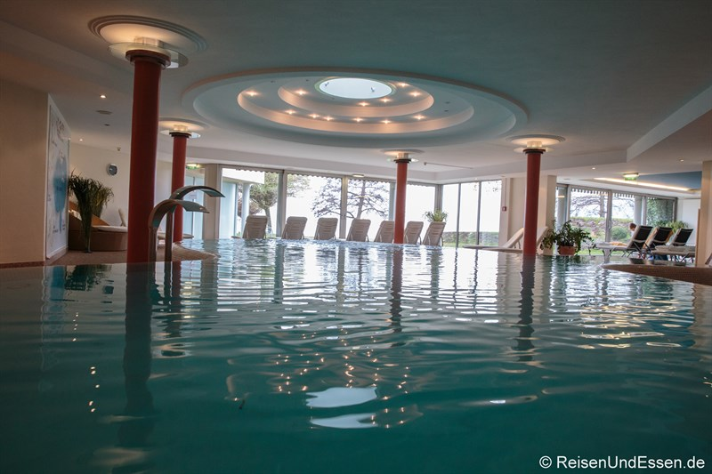 Indoor-Pool im Werzer's in Pörtschach
