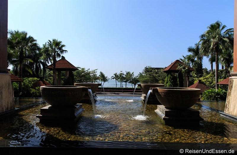 Blick vom Ocean Sonic Resort Richtung Meer