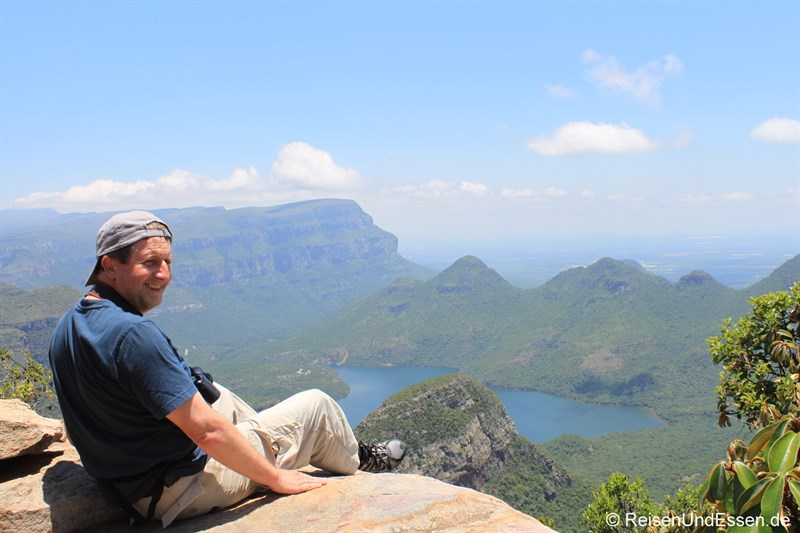 Platz am Abgrund zum Blyde River Canyon