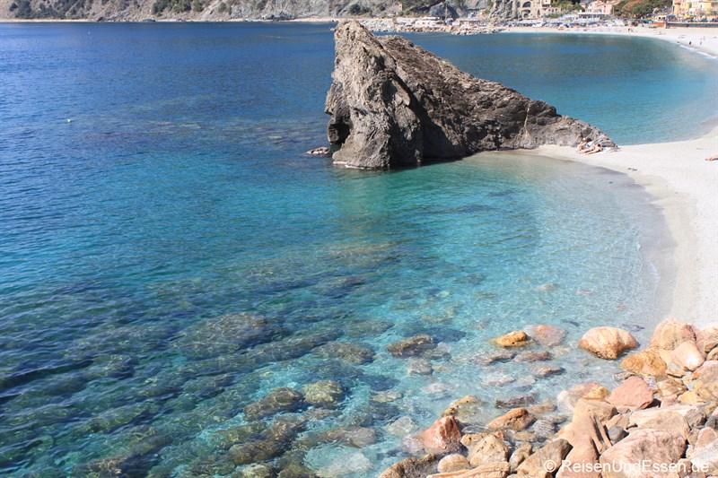 Strand in Monterosso al Mare