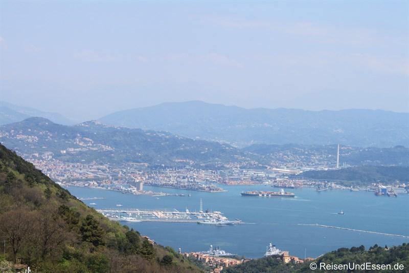 Blick auf La Spezia