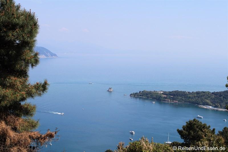Blick in die Bucht vor Portovenere