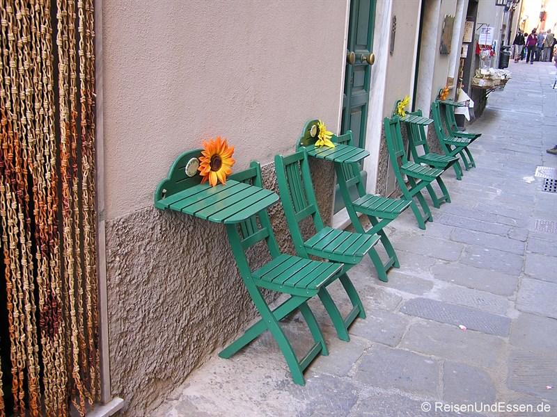 Stühle in Portovenere