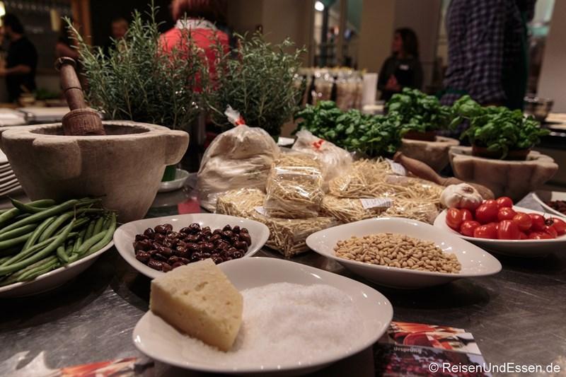 Kulinarik in Ligurieren