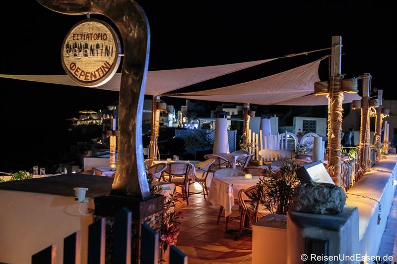 Taverne in Oia