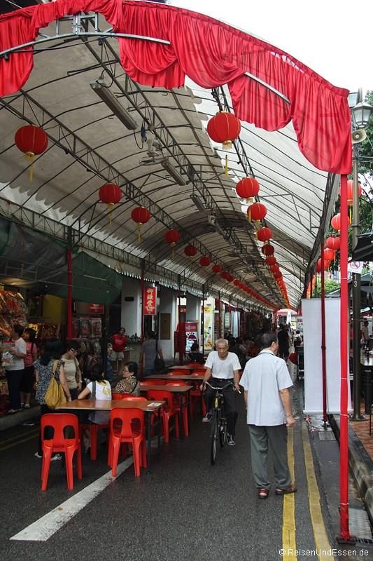Essen in Singapur - Essensstände in Chinatown