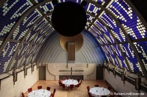 Radisson Blu Bremen, Tomahawksteak und der Himmelssaal