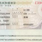 Anleitung für ein Visum für China