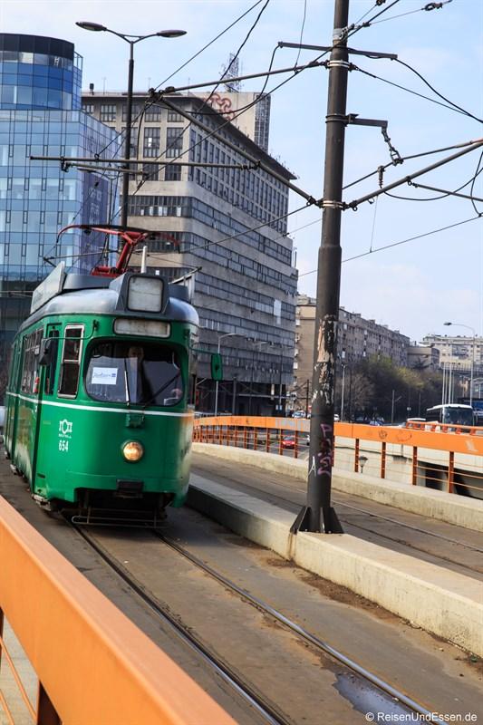 Sightseeing in Belgrad mit Strassenbahn