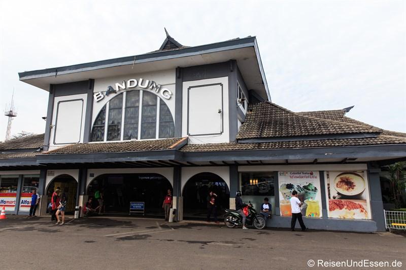 Bahnhof in Bandung