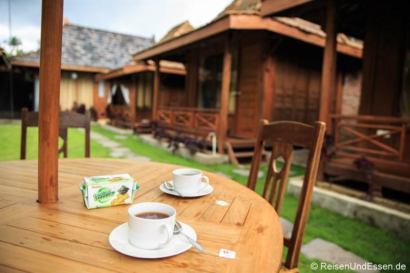 Frühstück in der Cempaka Villa