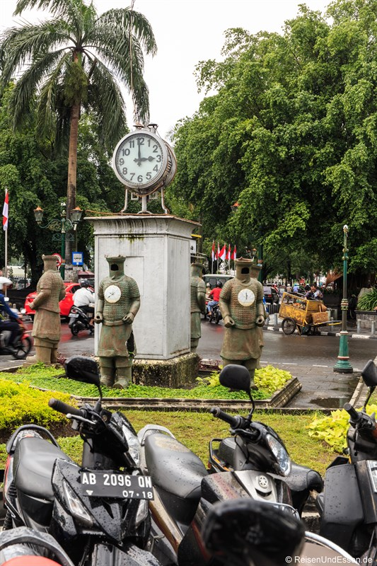 Clock Tower in Yogyakarta