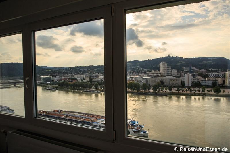 Kepler Suite mit Aussicht auf Donau