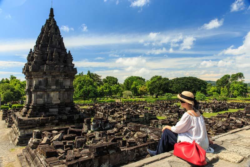 Besichtigung von Prambanan