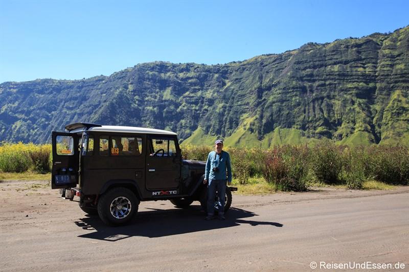 Mit dem Jeep im Bromo-Tengger-Semeru-Nationalpark