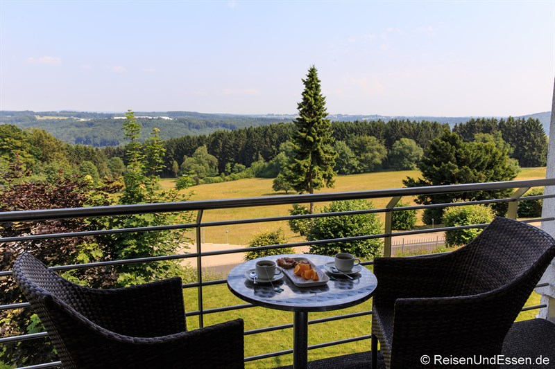 Balkon im Wildpark Hotel Bad Marienberg
