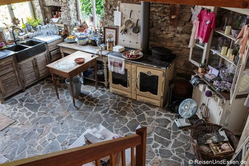 Küche der kleinen Fromagerie