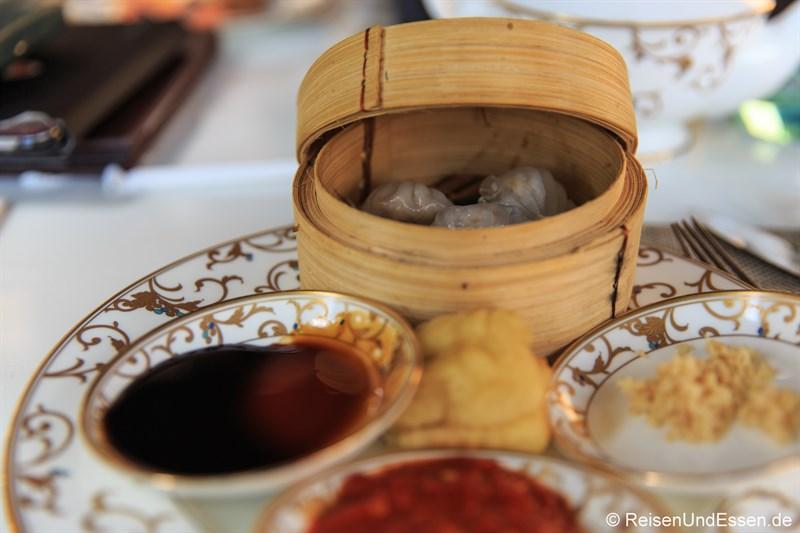Chinesisches Frühstück im Club InterContinental Bali