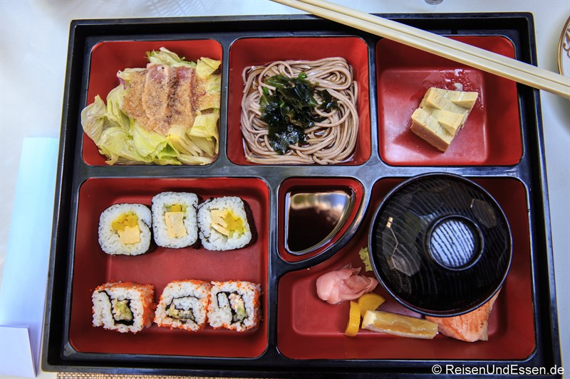 Japanische Frühstück im Club InterContinental Bali