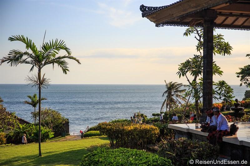 Blick bei Tanah Lot auf das Meer