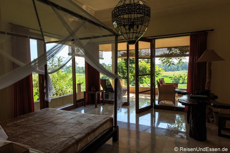 Hotel im Reisfeld - Green Field Hotel in Ubud
