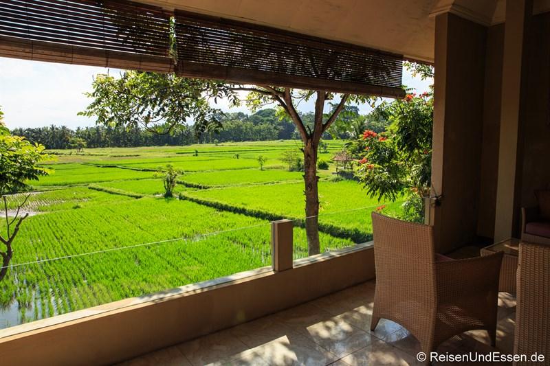 Balkon im Green Field Hotel Ubud