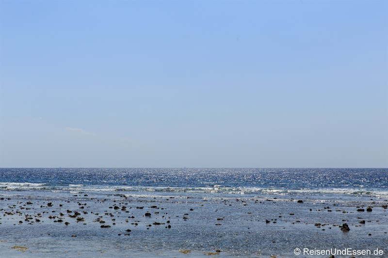 Tipps zu den Gili Inseln - Ebbe auf den Gili