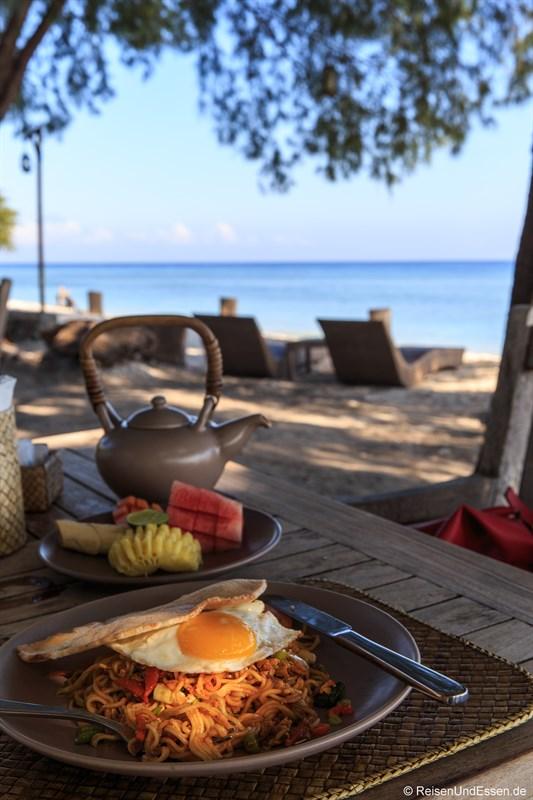 Frühstück mit Bami Goreng