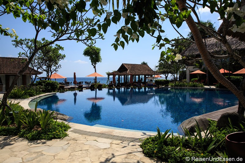 Pool im Sudamala Suites & Villas in Sengiggi