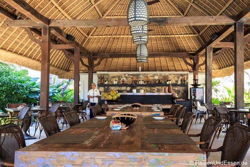 Restaurant Olah Olah im Sudamala Suites & Villas