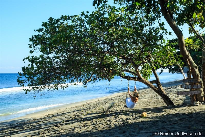 Strandbar in der Nähe vom Sudamala Suites & Villas