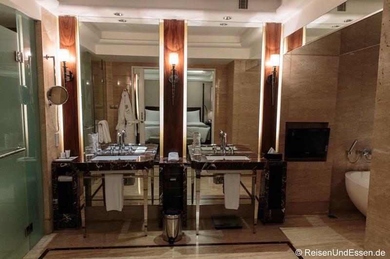 Badezimmer im Executive Grand Deluxe Zimmer