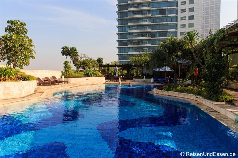 Pool im Hotel Indonesia Kempinski Jakarta