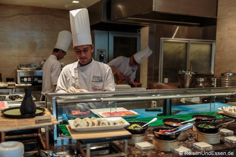 Japanisches Frühstück im Signature Restaurant