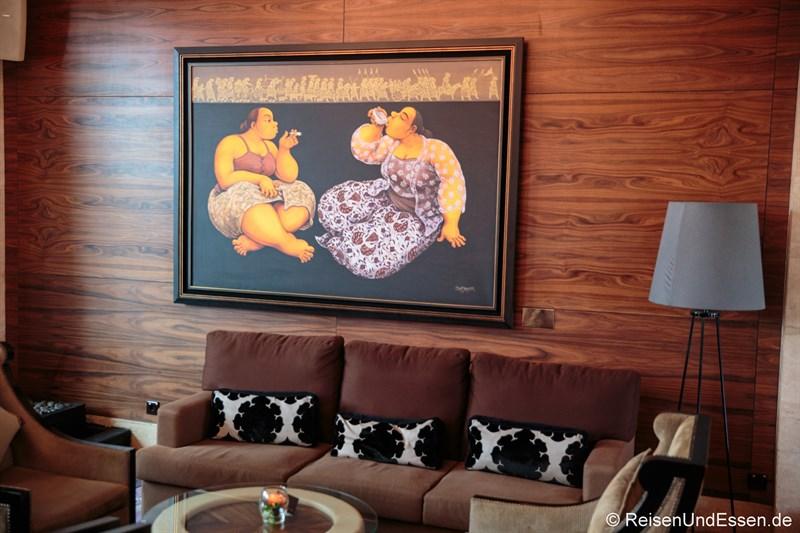 Lobby Nirwana Lounge im Hotel Indonesia Kempinski