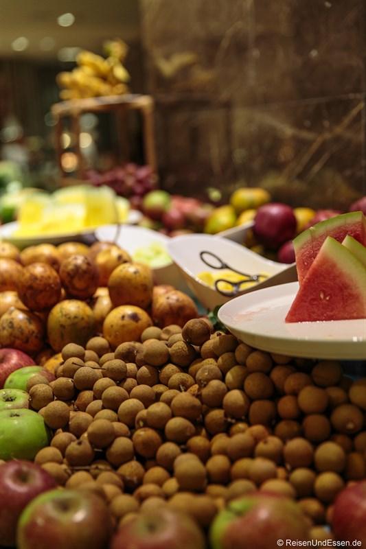 Obst im Signature Restaurant