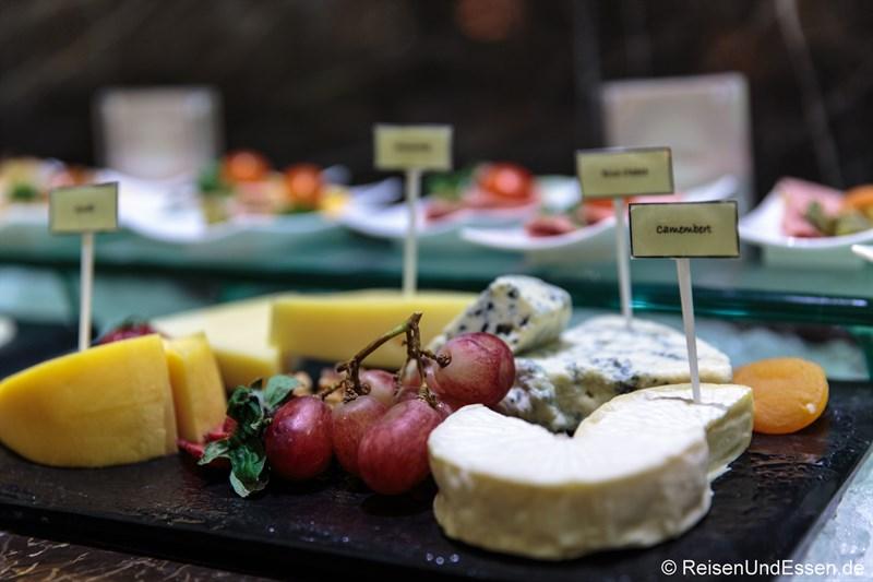 Käse im Signature Restaurant
