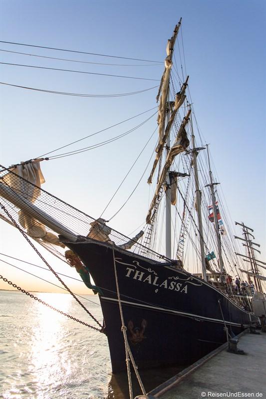 Unser Schiff Thalassa auf der Sail Bremerhaven 2015