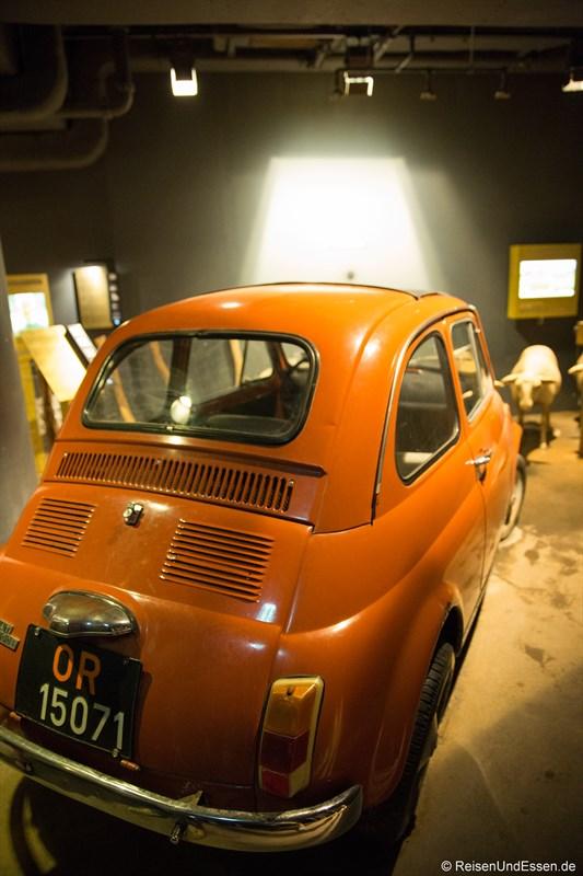 Fiat 500 im Klimahaus Bremerhaven