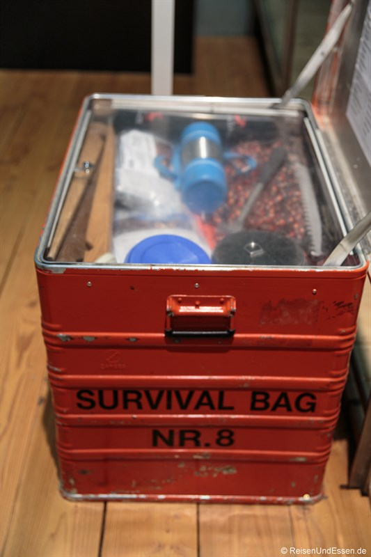 Survival Bag in der Antarktis