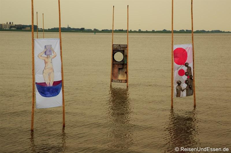 Kunst in der Weser
